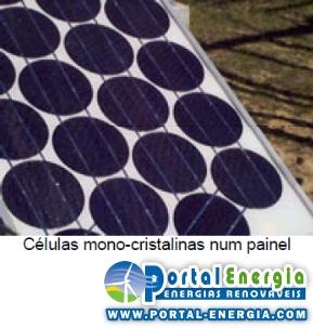 Células Solares Fotovoltaicas Mono-Cristalinas