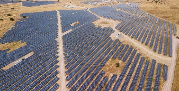 Mega Central Solar Fotovoltaica Ourika - Ourique, Portugal