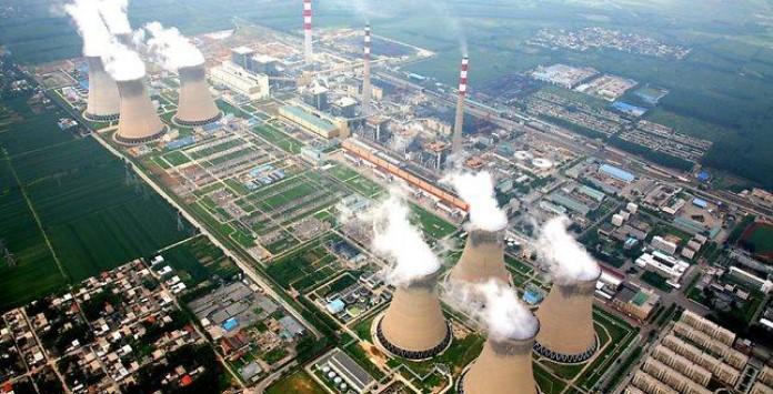 Central de Zouxian, China