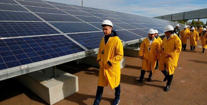 Chernobyl Energia Solar