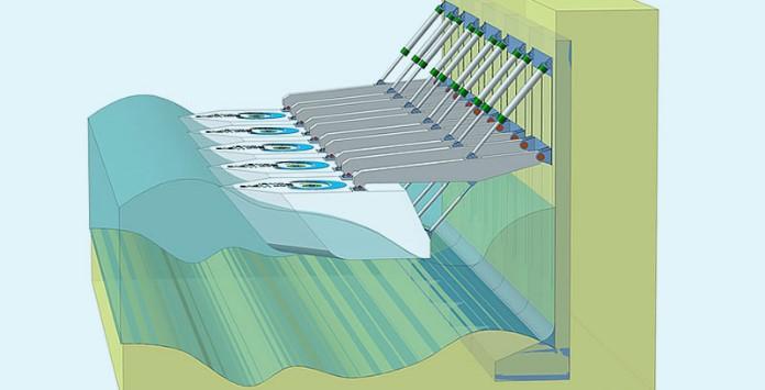 Tecnologia Eco Wave Power - Produção eletricidade a partir da energia das ondas