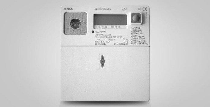 contador eletricidade estático Iskra ME162