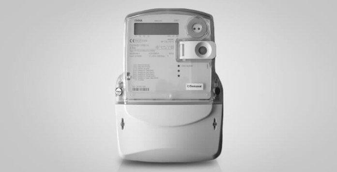 contador eletricidade estático Iskra MT172 trifásico
