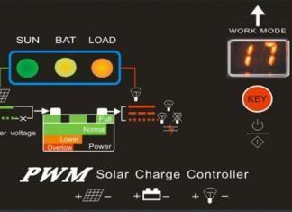 Controlador Carga Baterias - Energia Solar