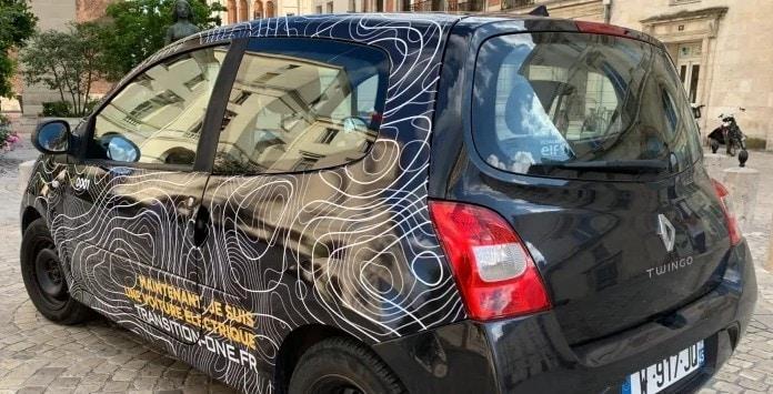 Carro elétrico convertido pela Transition One