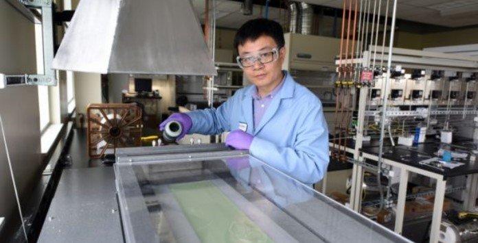 Eletrodo permite reduzir custo do Hidrogenio