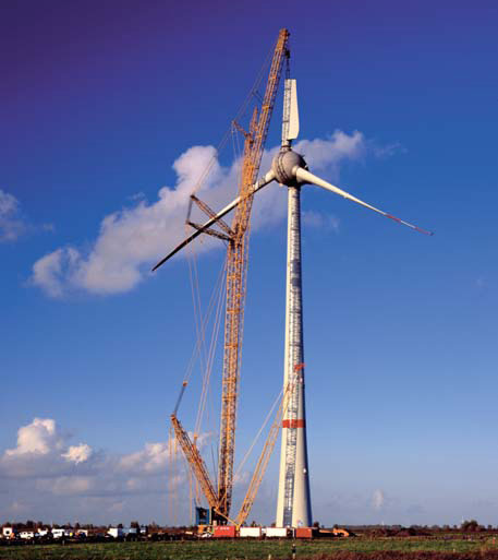 Enercon E126 Erection - Largest Wind Turbine