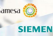Fusão entre gigantes eólicos Gamesa e Siemens