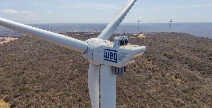 A WEG entra no mercado eólico Indiano