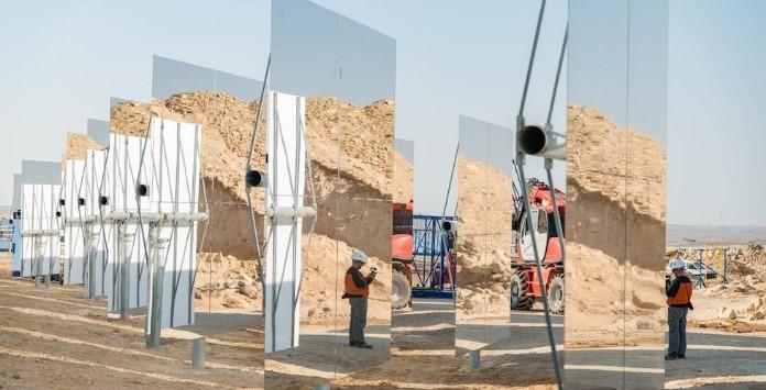 Ashalim - A maior Torre de Energia Solar Concentrada