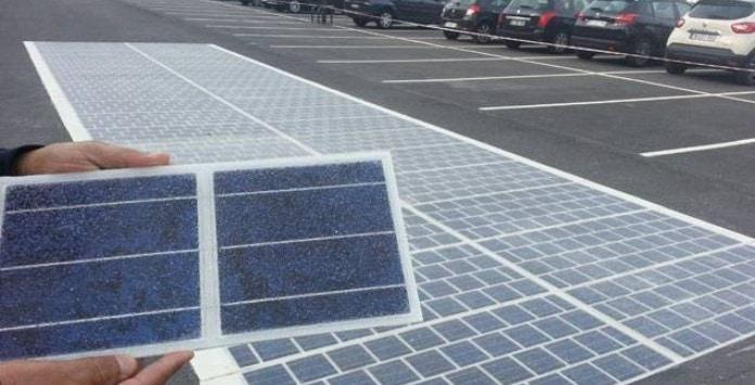 Estrada Painéis Solares Fotovoltaicos