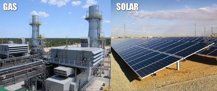 Gás Natural Vs Energia Solar Fotovoltaica