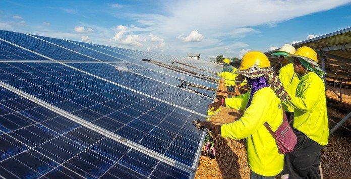 Globalização da Energia Solar Fotovoltaica