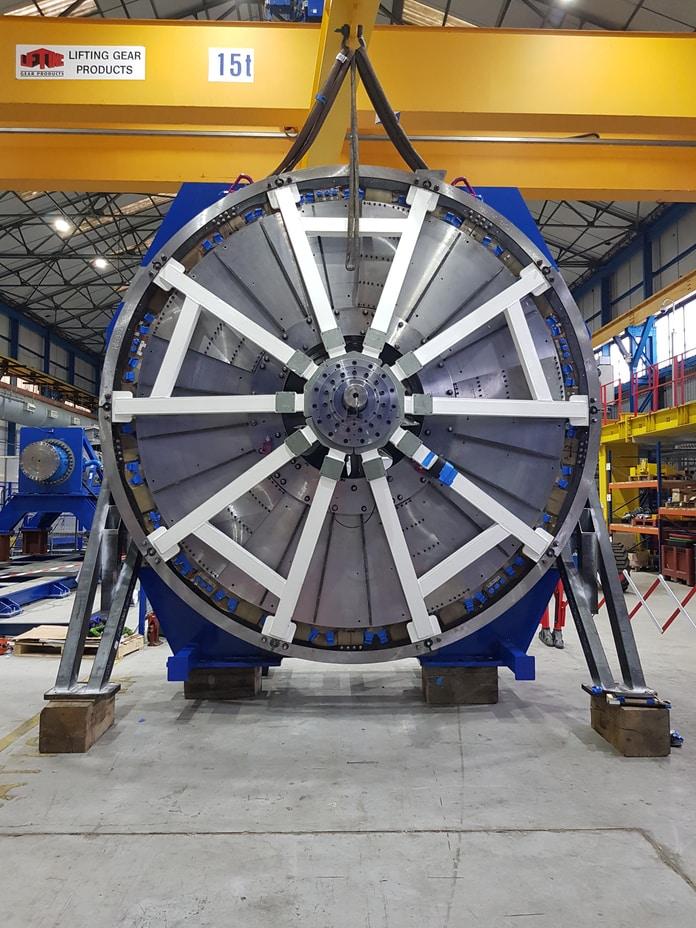 Gerador Jumbo para turbinas eólicas offshore