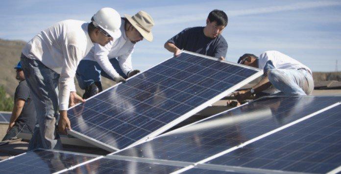instalação paineis solares fotovoltaicos