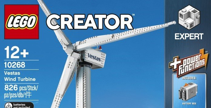 Lego Energia Eólica Vestas