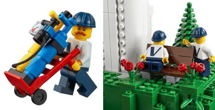 Lego Energia Eólica Vestas - Técnicos de Manutenção