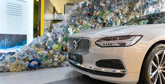 Lixo Oceânico - Volvo