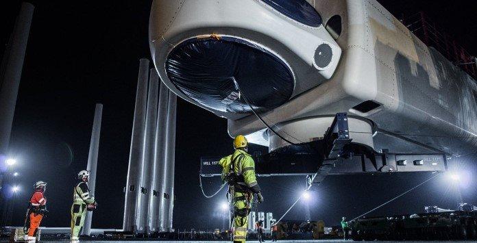 Turbina Eólica MHI Vestas V164-9.5 MW - Nacelle
