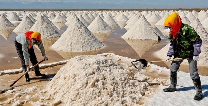Minas Extração Lítio - China
