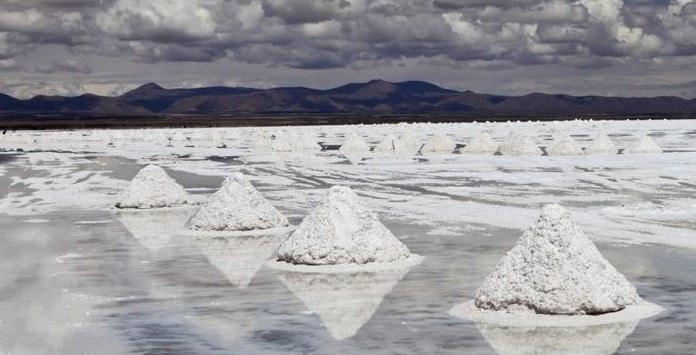 Minas de Lítio