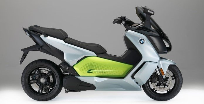 Moto Elétrica - BMW C Evolution