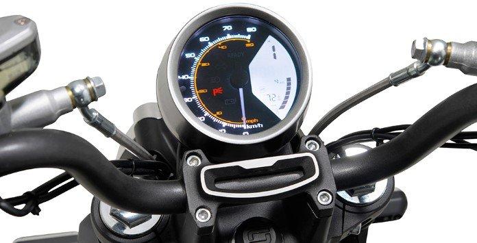 Moto Elétrica Velocímetro - TC MAX da Super Soco