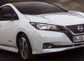 Novo Nissan Leaf Frente