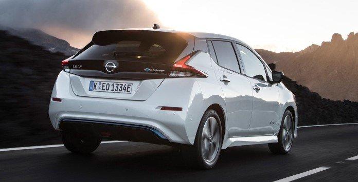 Novo Nissan Leaf Traseira