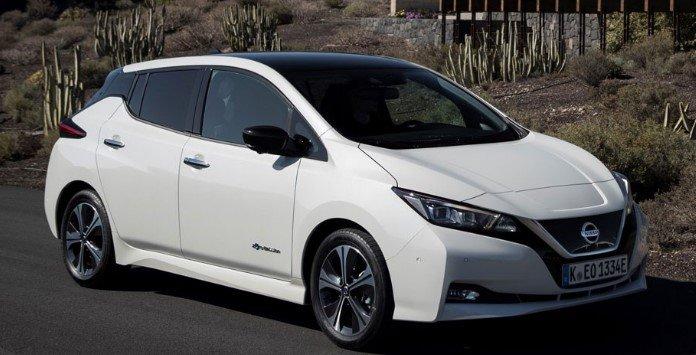 Novo Nissan Leaf Frente