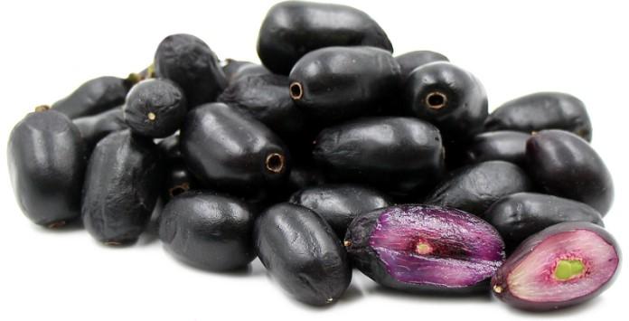 Fruta asiática Jamelão (Syzygium Cumini) - Painéis Solares Fotovoltaicos