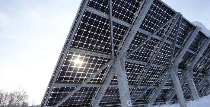 Painéis Solares Fotovoltaicos de Dupla Face