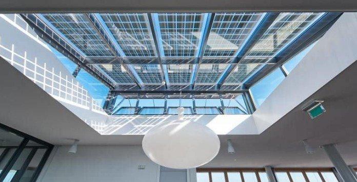 Painéis Solares Fotovoltaicos transparentes