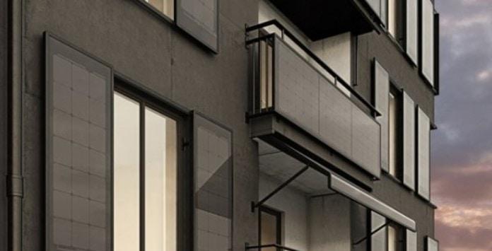 Painéis Solares para varandas e janelas
