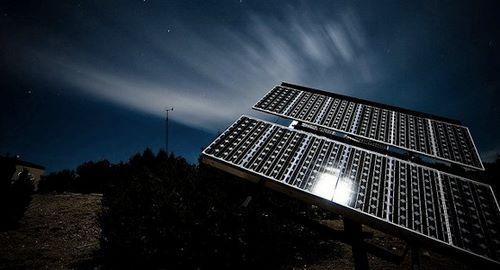 painel solar noite 2