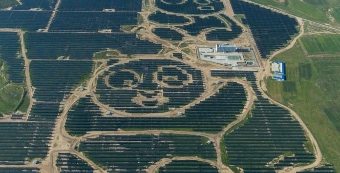 Parque Solar - Desert Tenger - China