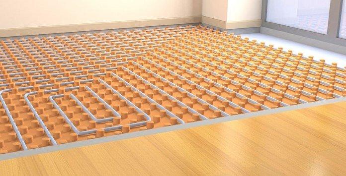 Piso Radiante - Aquecimento - Painel Isolamento