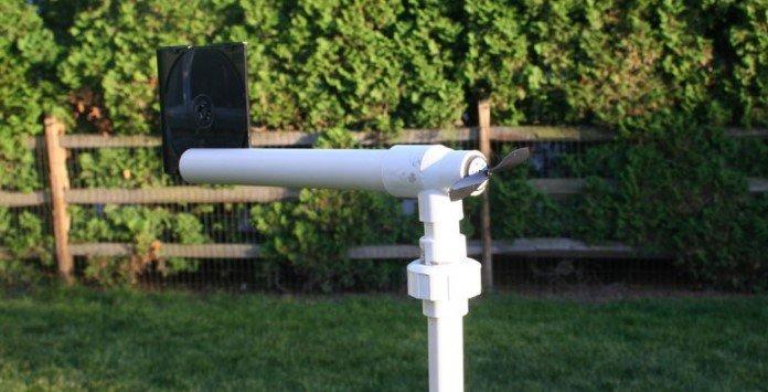 Como montar um aerogerador caseiro - Após montagem