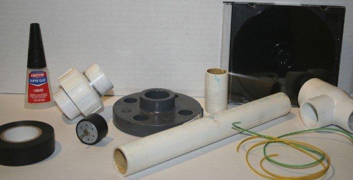 Como montar um aerogerador caseiro - Materiais