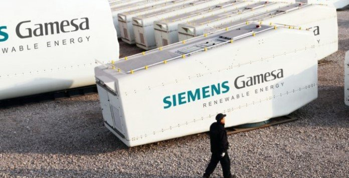 Nacelle Siemens Gamesa