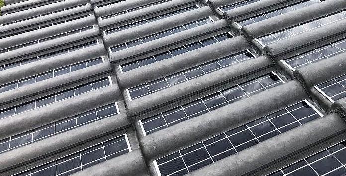 Tégula Solar - Telha fotovoltaica de betão