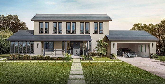 Telhado Solar Tesla