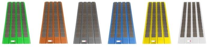 Telhas Solares Ecosolaroof - Cores