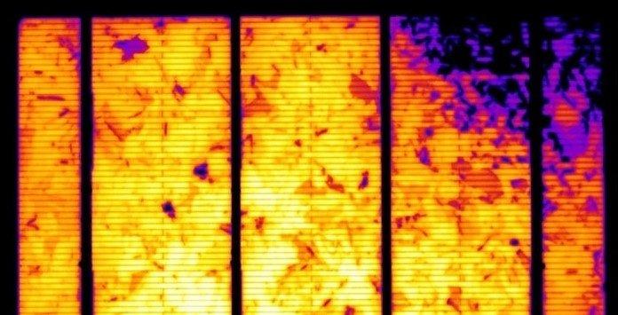 Termografia Painel Solar Fotovoltaico