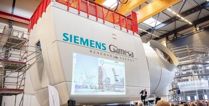 Protótipo Turbina Eólica Offhore Siemens Gamesa SG 11.0-193 DD Flex
