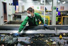Tratamento e separação de Lixo