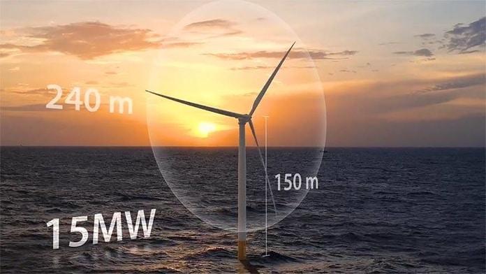 Turbina Eólica IEA 15 MW