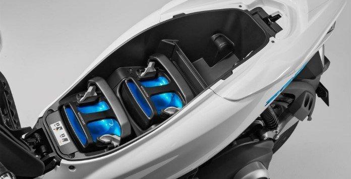 Vespa Elettrica - Baterias