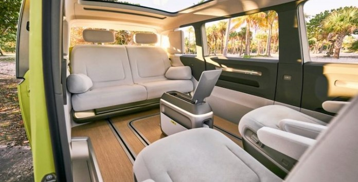 Volkswagen BUZZ - Interiores