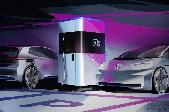 Volkswagen - Estação de Carregamento Móvel